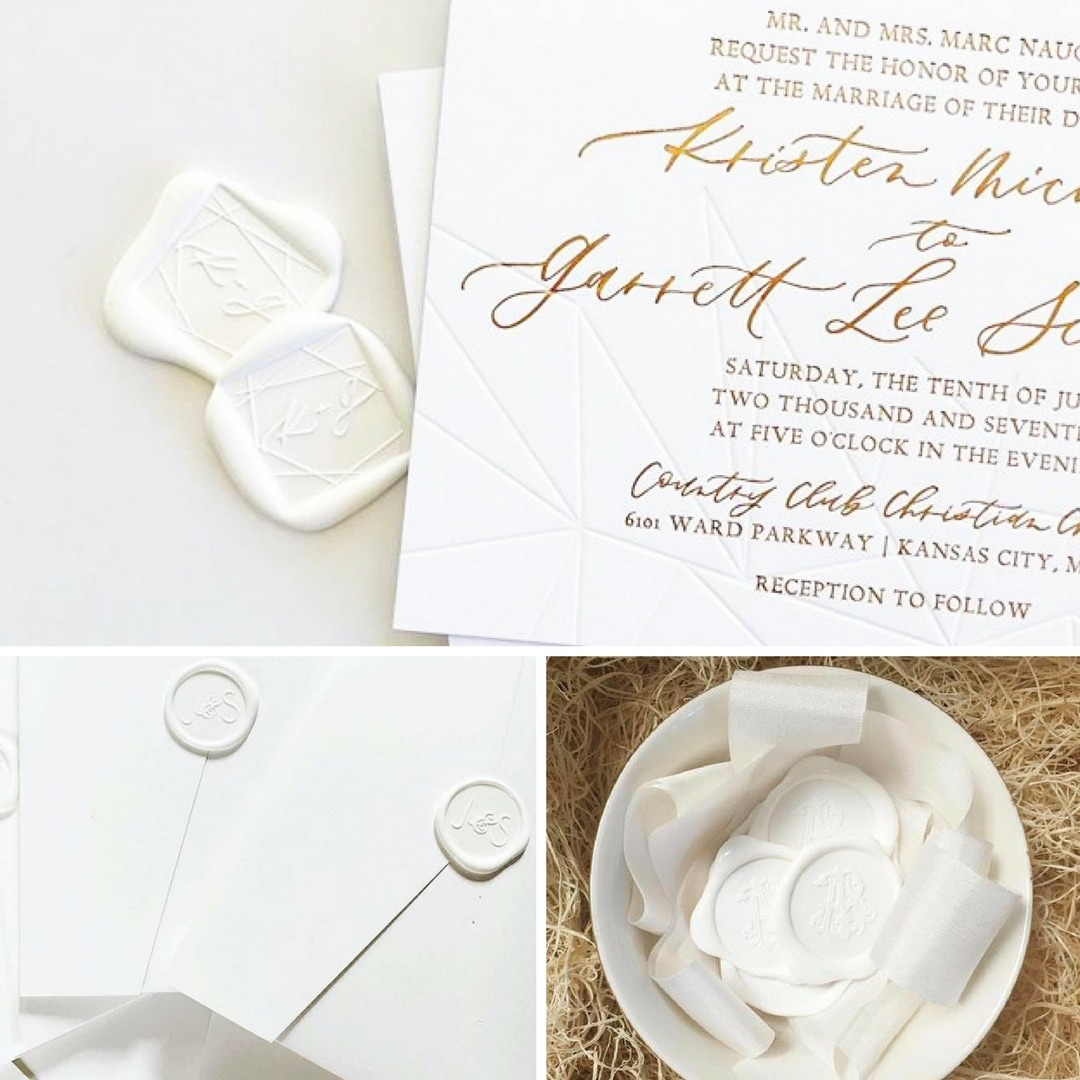 Top 5 Wax Seal Trends For Your Wedding by Ashley M - Flemings ...