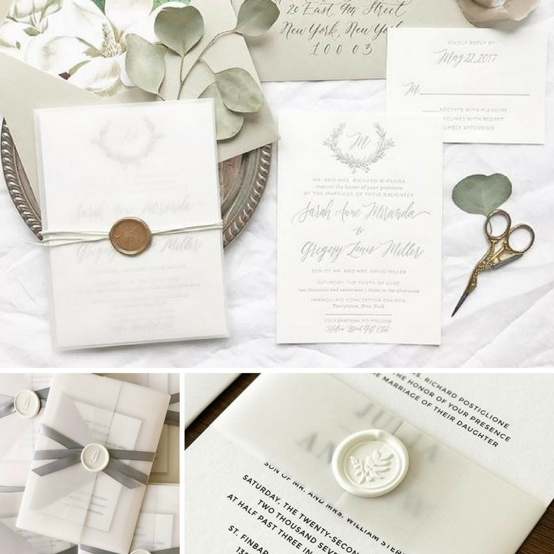 Popular Top 5 Wax Seal Trends For Your Wedding by Ashley M - Flemings  BJ14